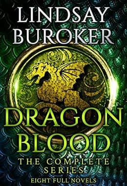 Dragon Blood Book cover