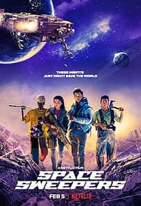 Space Sweepers Movie poster