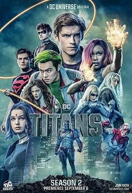 Titans TV poster