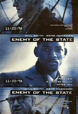 Enemy of the State Movie poster